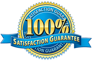 Satisfaction Guaranteed!!!